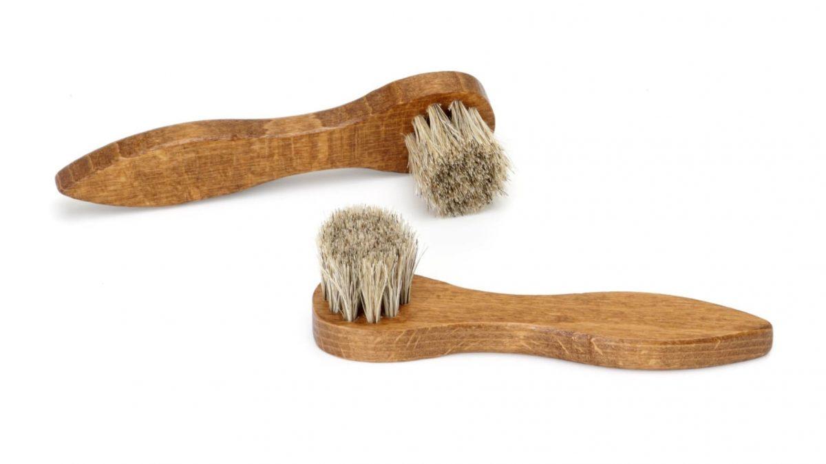 Small Horsehair Shoe Brush